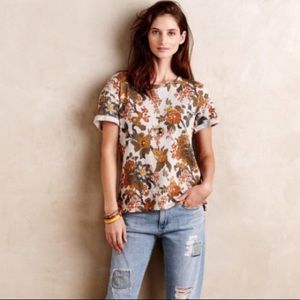 Anthropologie Saturday Sunday Floral Shirt